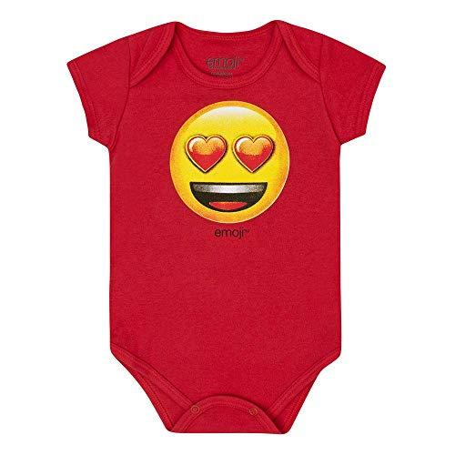 Body Emoji Apaixonado, Baby Marlan, Bebê Menina, Tomate, MB