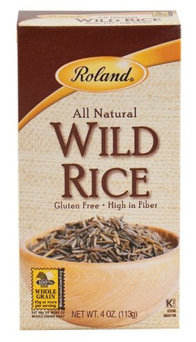 Roland Rice, Wild, 4 Ounce (Pack of 6) by Roland