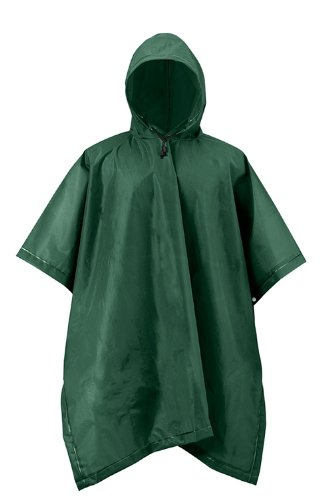 Mossi Adult XT Series Rain Poncho (Forest Green)