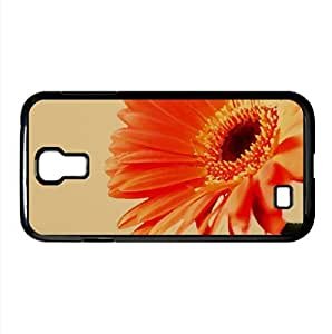 Orange Gerbera Watercolor style Cover Samsung Galaxy S4 I9500 Case (Flowers Watercolor style Cover Samsung Galaxy S4 I9500 Case)