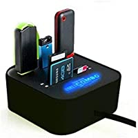rts All in One Combo Card Reader for Pen Drive/Cameras/Mobiles/PC/Laptop/Notebook Or Docking Station/MP3s/PDAs,Color May Vary