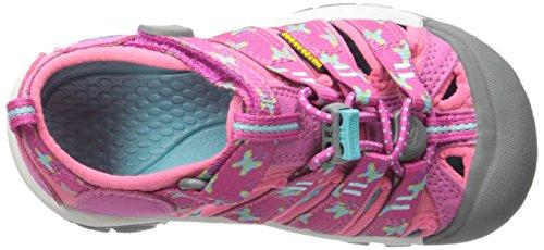 Sandalias y chanclas para ni�a, color Rosa , marca KEEN, modelo Sandalias Y Chanclas Para Ni�a KEEN NEWPORT H2 Rosa Rosa (Very Berry Butterfly)