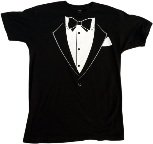 Tuxedo Tee | Funny Bachelor Party, Prom, Homecoming, Funeral Unisex T-shirt