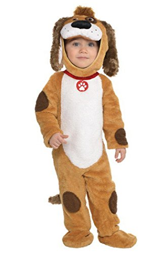 Deluxe Playful Pup Costume - Baby 12-24 -