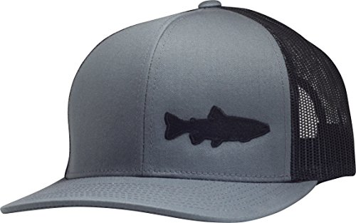 Lindo Trucker Hat - Trout Fishing 2.0 (Gray/Black)