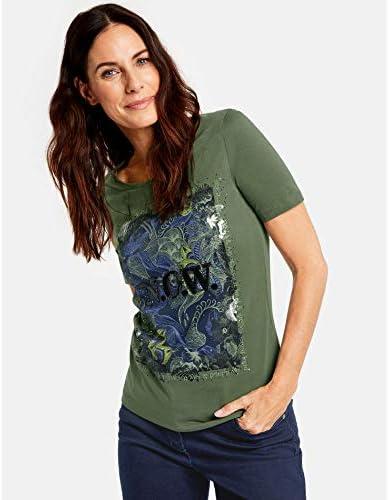 Gerry Weber damska koszulka z rękawami 1/2 Now Figurumspielend, taliowana - Shirt 40: Odzież