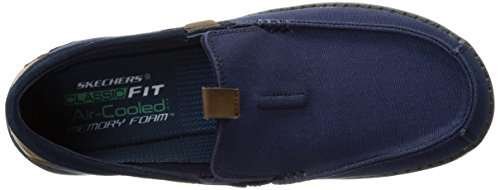 Skechers Usa Heren Melson Valerio Slip-on Loafer Marine