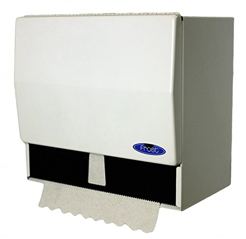 Frost 101 Paper Towel Dispenser, 10 Height x 7 Width x 11 Length, White (Box of 1) 101-1