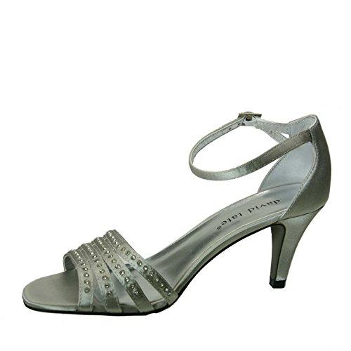 David Tate Kvinders Terra Sandal Sølv sV8U1jRui