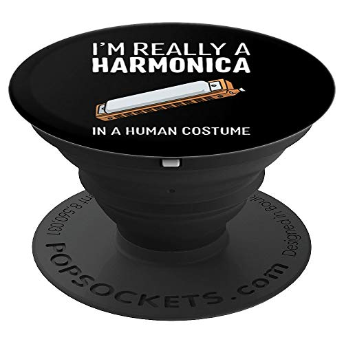 I'm Really A Harmonica In A Human Costume