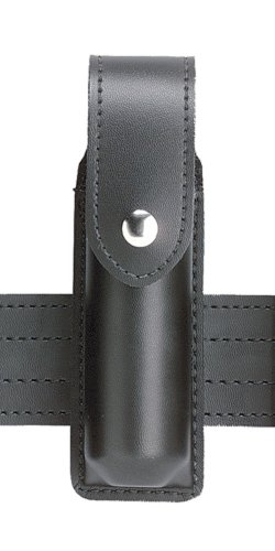 Safariland Duty Gear MK3 Chrome Snap OC Pepper Spray Holder (Plain Black)
