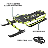 Yukon Hammerhead Pro HD Steerable Snow Sled with