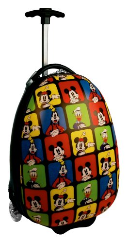 "Disney Mickey 18"" Rollaboard Luggage,Multi,One Size"