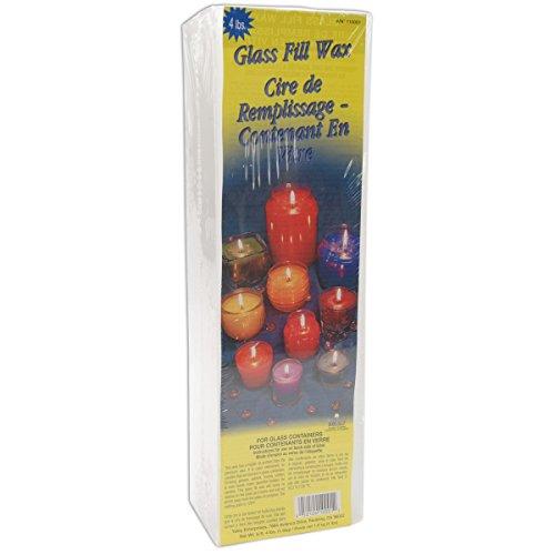 Yaley 4-Pound Glass-Fill Candle Wax Glass Fill Candle Wax