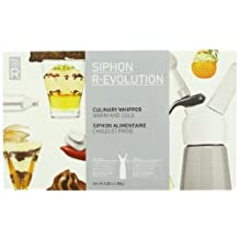 Cream Whipper Pack by MOLECULE-R Whipped cream dispenser with N2O chargers and +