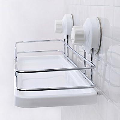 DFHHG® Estantería, Cuarto de baño Vacío fuerte Aspirador Clavos ...