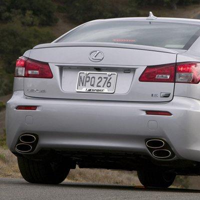 Amazon.com: Lexus F Sport Polished Steel License Plate Frame: Automotive