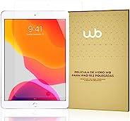 Película De Vidro Temperado 9H WB Compatível com iPad 10.2'' 7ª e 8ª