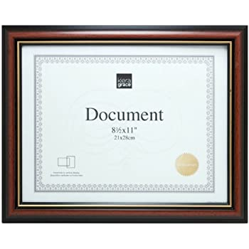 Amazon Kiera Grace Kylie Document Frame 85 By 11 Inch