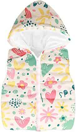 1cf341e6d9 AMSKY Toddler Kids Baby Girls Boys Sleeveless Cartoon Star Print Warm  Waistcoat Waistcoat Warm Winter Clothes