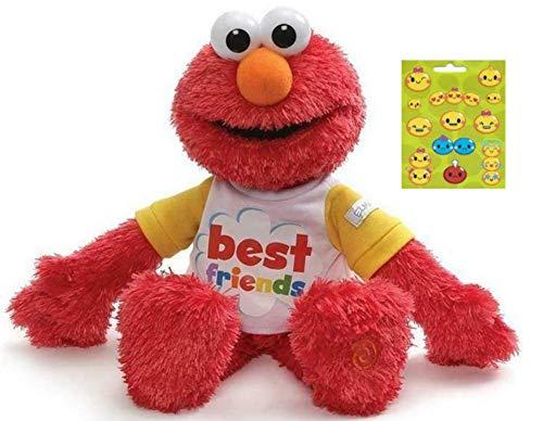 GUND Sesame Street Elmo Best Friend Hug Me Talking Plush - Recites 8 Different Messages