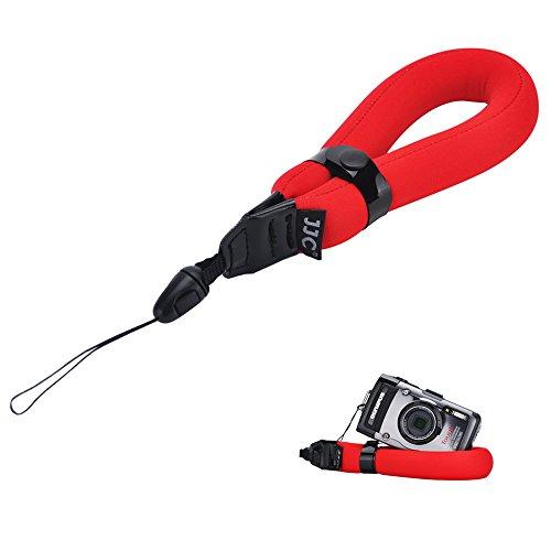 Float Foam Wrist Strap JJC Waterproof Camera Floating Hand Strap for Olympus Stylus TG-5 TG-4 TG-3 TG-2 TG-1 TG-870 TG-860 TG-850 TG-810 TG-610 TG-320 TG-310 GoPro HERO4 HERO3+ Canon D10 D20 D30-Red