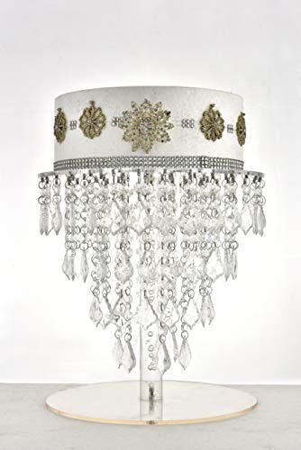 Butterflyevent Crystal Chandelier Cake stand Acrylic Cupcake Stand Wedding Table Centerpieces - Hanging Cake