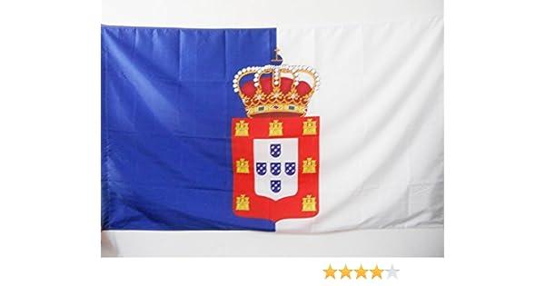 AZ FLAG Bandera del Reino DE Portugal 1139-1910 150x90cm para Palo ...