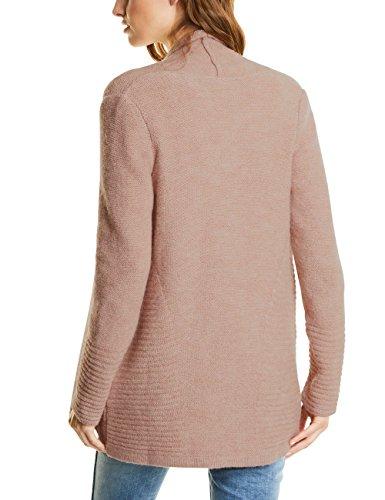 Rose Gilet Studio Cardigan Femme Collar Street Shawl 10983 Rosa One Knit Cosy BwWzqUnSO