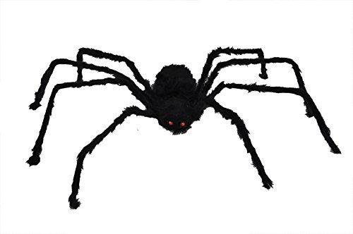 50 Inch Posable Furry Spider (Assorted -