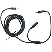 Party Chat Link Chat Cable Compatible for Xbox One PS4 Connecting Elgato Game Capture HD HD60 Pro & Gaming Headset