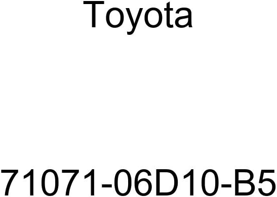 TOYOTA Genuine 71071-06D10-B5 Seat Cushion Cover
