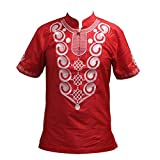 Mens Embroidery Wonderful Colors Traditional Mali African Vintage