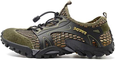 アウトドアシューズ 軽量 メンズ スニーカー カジュアルシューズ コンフォート ハイキングシューズ 防滑 通気性 メッシュシューズ トレッキングシューズ 登山靴 春夏 水陸両用シューズ スポーツサンダル 軽量