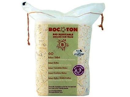 Bocoton - Discos desmaquillantes algodón Bio Bocotton, 60uds.