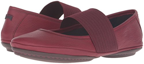 Ballet Nina Women's Flat Red 21595 Camper Right gZfEq