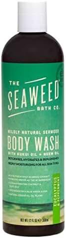 The Seaweed Bath Co. Body Wash, Eucalyptus & Peppermint
