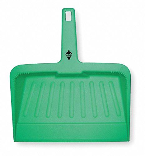 Hand Held Dust Pan, Green, Plastic