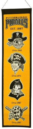 [MLB Pittsburgh Pirates Heritage Banner] (Logo Heritage Banner)