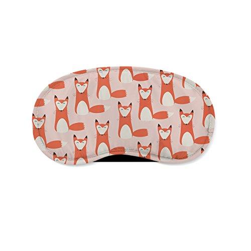 Foxy - Cute Fox Sleeping Mask Travel (Red Eye Mask)