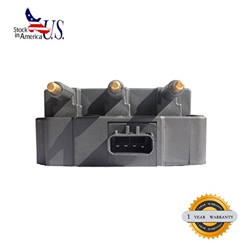 VioGi 1pc Brand New Ignition Coil (6 coil packs in the unit) Fit 3.3L/3.8L V6 05-08 Chrysler Pacifica 00-10 Town & Country 01-03 Voyager 01-07 Dodge Caravan 01-10 Grand Caravan 07-11 Jeep Wrangler