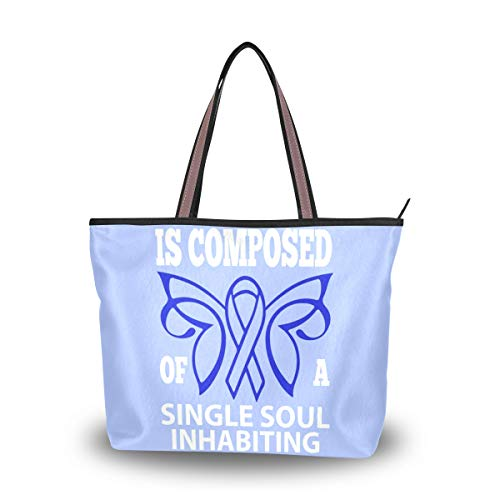 Tote Bag With Colon Cancer...