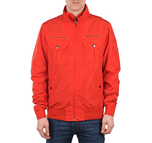 14ddf2a28923 Tommy Hilfiger Men s Jacket Cliff Dale Bomber 887849534 Red  Amazon.co.uk   Clothing
