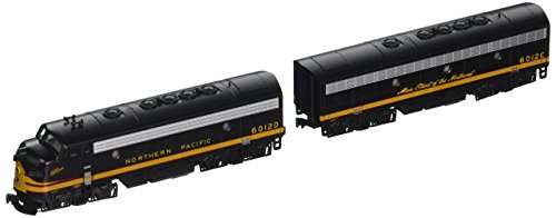 Emd F7a Unit - Kato USA Model Train Products N EMD F7A + F7B Northern Pacific #6012D, 6012C Freight 2-Locomotive Set