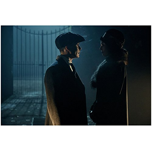 Peaky Blinders Cillian Murphy as Thomas Shelby Talking in the Dark Shadows 8 x 10 Inch Photo