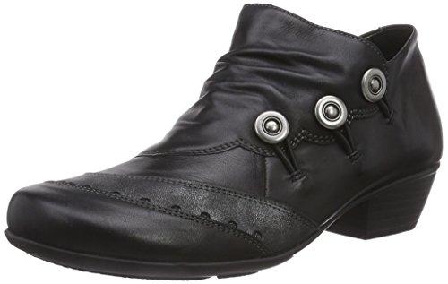 Remonte DorndorfD7348 - zapatos de tacón cerrados Mujer Negro - Schwarz (schwarz/graphit / 01)