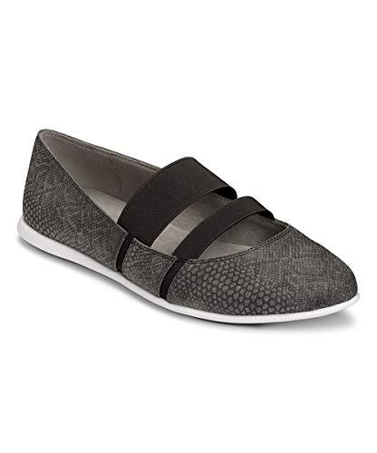 Aerosoles Mary Janes (Aerosoles Womens Payout Closed Toe Ankle Strap Mary Jane, Black Snake, Size 10.0)