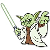 Star Wars Yoda car vynil car sticker 4' x 4'