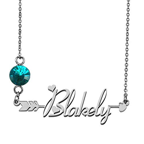 Any Name Necklace Blakely Personalized Graduation Gifts from GR859C