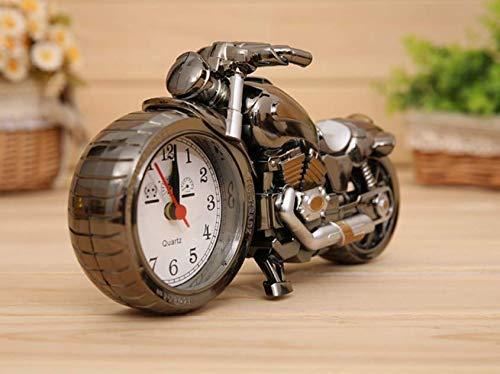 MEIDI Home Motocicleta Reloj Despertador Mesa Escritorio ...